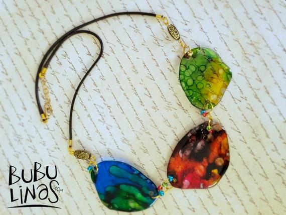 Bohemian Necklace, Boho Jewelry, Hippie Jewelry, Statement Necklace