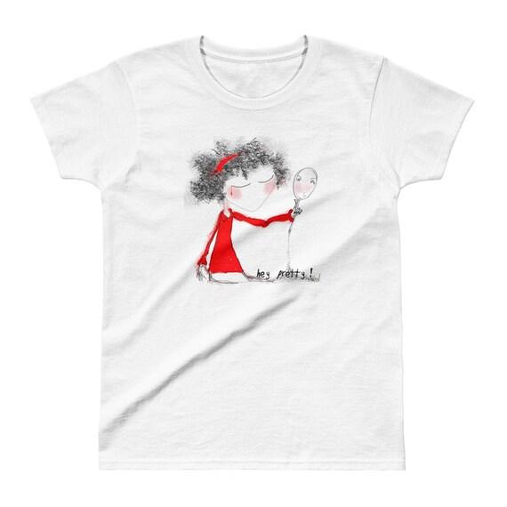 Hey Pretty! Ladies' T-shirt