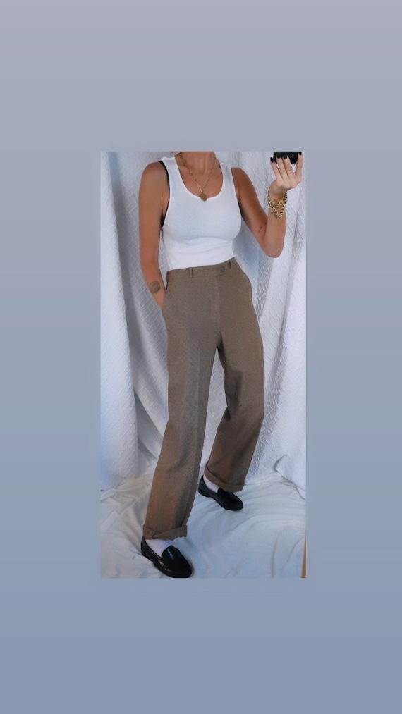 70's Wool Trouser Pant