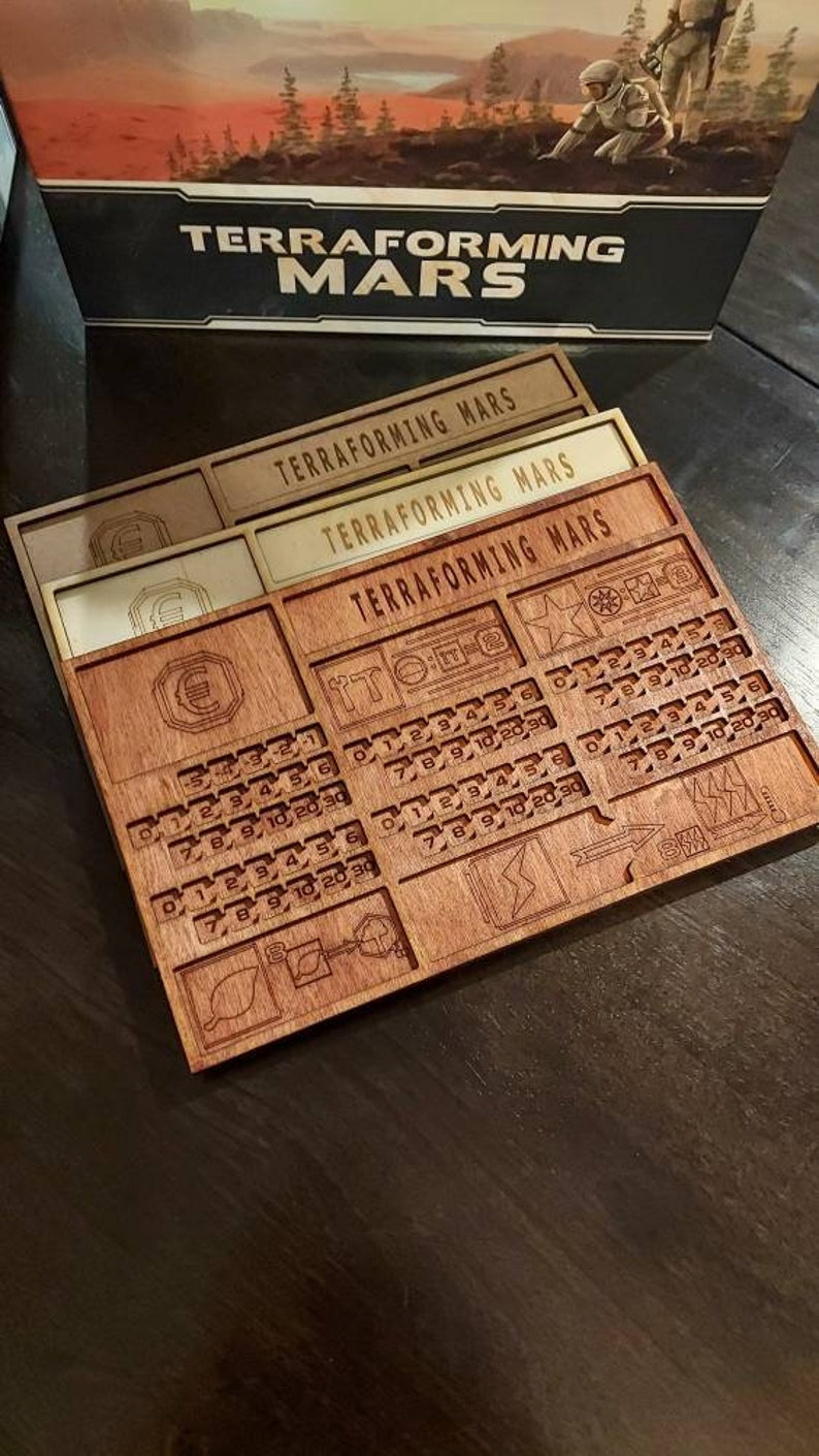 Deluxe Edition Handmade LARGE Lasercut & Engraved Wooden image 1