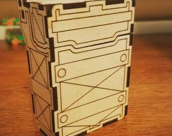 Handmade Wooden Deck Box