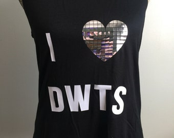 Dancing with The Stars, DWTS tank, DWTS, Dancing with the Stars Shirt, Chirstmas Present, Chistmas Gift
