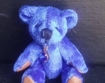 September Birthstone Bear, Sapphire Bear