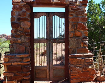 Door To Nowhere, Fine art photograph, photography print, whimsy photography, doorway, landscape photography