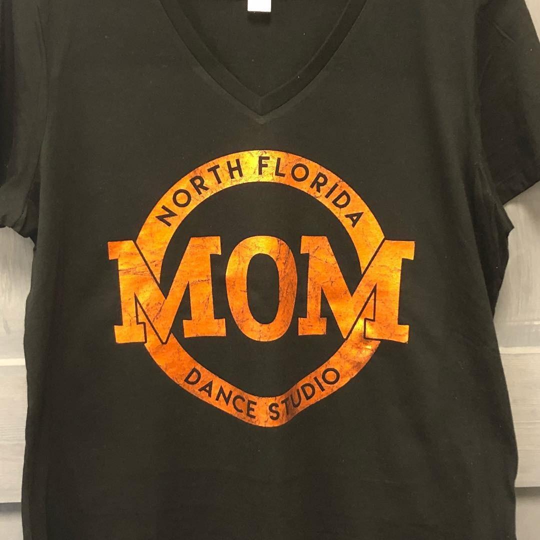 North Florida Dance Studio Crinkle Foil Design Multiple Shirt Etsy