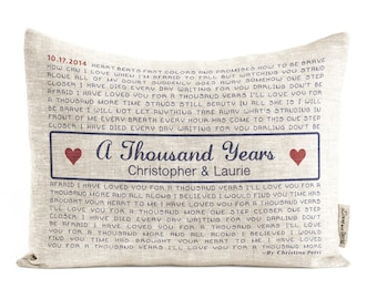 Foot Petals Tip Toes Ball of Foot Shoe Cushions Linen Song lyric Pillow, Roman