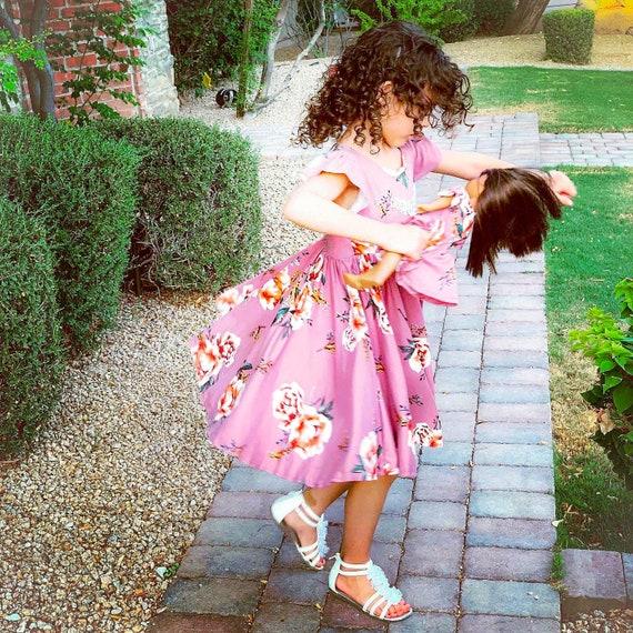 Carry Gratitude Everywhere Twirling Dress