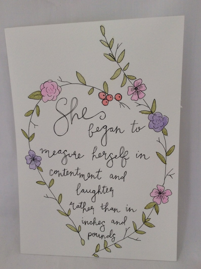 Lettering Quotes Hand Painted by Casai Prints Inspirational Quotes