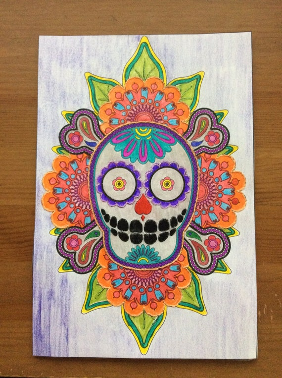 Cinco De Mayo Sugar Skull Cinco De Mayo Party Decoration Halloween  Decoration Day Of The Dead Sugar Skull Coloring Page Art Embroidery Art