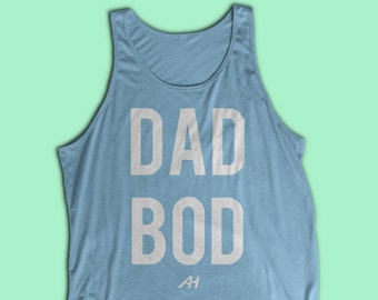 e875ec8cb Dad Bod Unisex Fitness Tank - Funny Fitness Tank - Weight Lifting Shirt -  Lifting Tank - Gym Tank - For him - Dad Gift