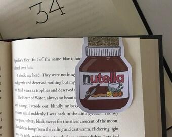 Nutella Magnetic Bookmark //