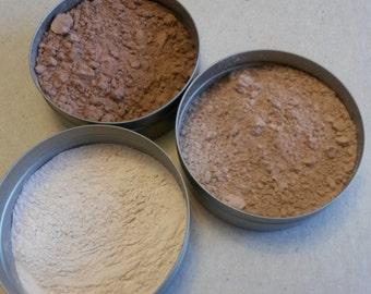 Loose powder Organic Plant based setting powder makeup SPF vegan natural makeup plant makeup Bamboo