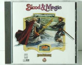 Advanced Dungeons & Dragons: Blood And Magic