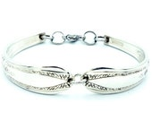 Spoon Bracelets Authentic Silverware Jewelry Gift For Lovers Of Vintage Jewelry quot Lyric quot Year 1939