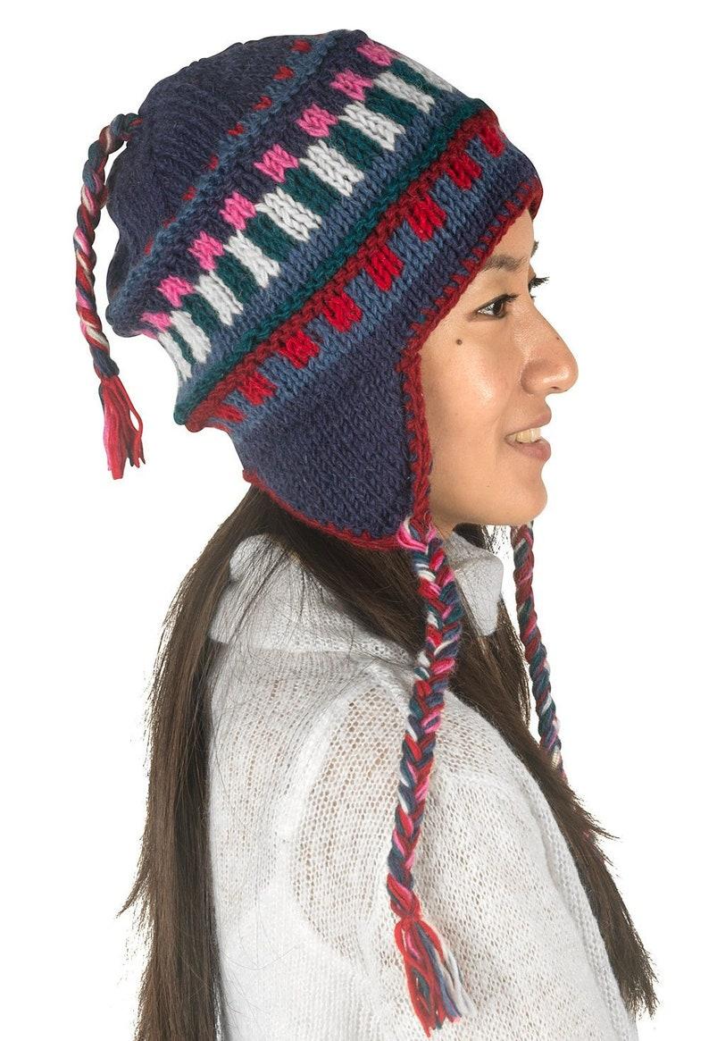 8445b1ce790 Winter Hand Hand Knitted Hat Women Winter Hat Wool Hat
