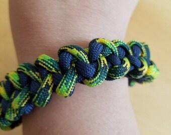Paracord bracelet, unisex bracelet, 550 paracord, survival paracord, cord bracelet, Men's bracelet, nautical bracelet