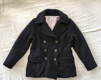 96e13a6c7 Lacoste Double Breasted Wool Jacket Coat