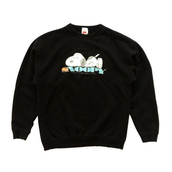 Vintage 90s Peanuts Sweatshirt Peanuts Snoopy Crew