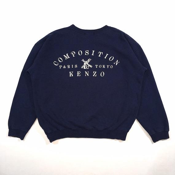 Vintage 90s Kenzo Sweatshirt Kenzo Crewneck Kenzo