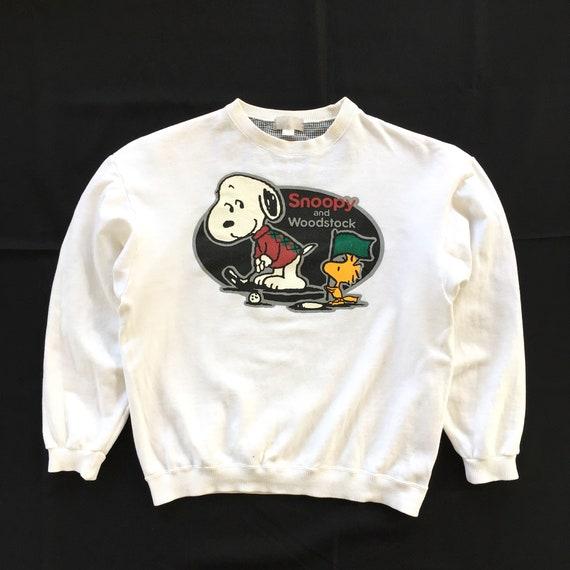 Vintage 90s Snoopy And Woodstock Sweatshirt Peanut