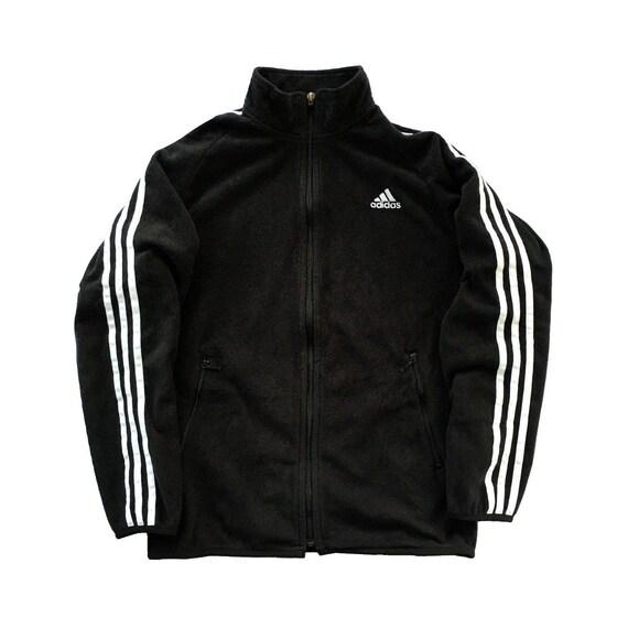 Vintage Adidas Fleece Sweatshirt Full Zip Sweatshi