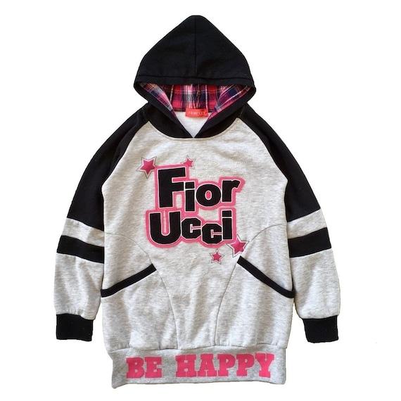 Vintage 90s Fiorucci Hoodie Sweater Fiorucci Sweat