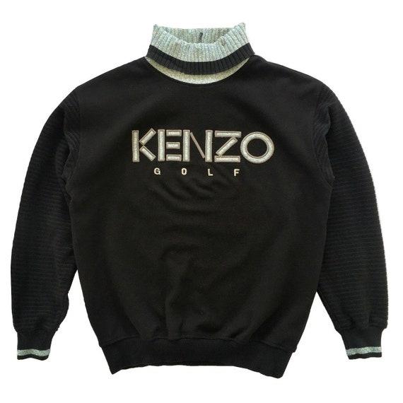 Vintage Kenzo Sweatshirt Turtleneck Kenzo Golf Ken