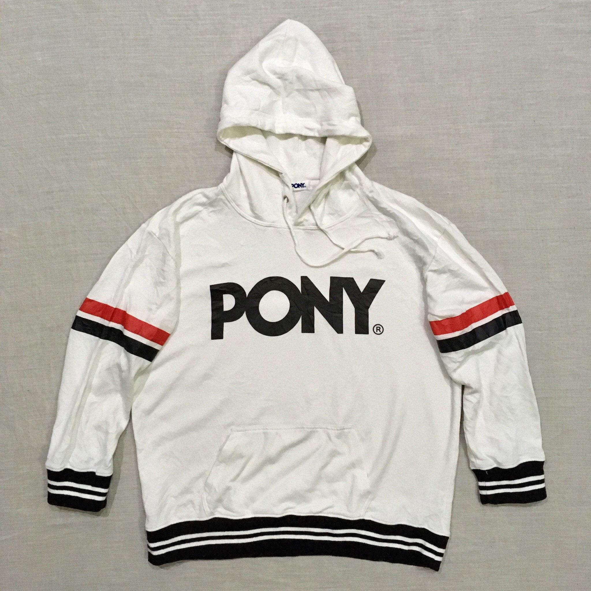 631156306e Pony Hoodie Sweatshirt Streetwear Sweater Unisex M L