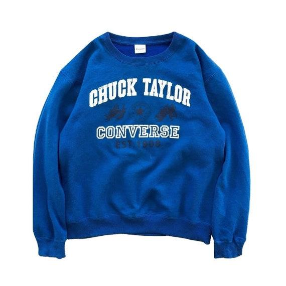 Vintage Converse Sweatshirt Converse Sweater Crewn