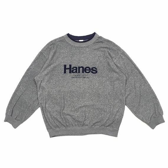 Vintage Hanes Sweatshirt Hanes Sweater Hanes Crewn