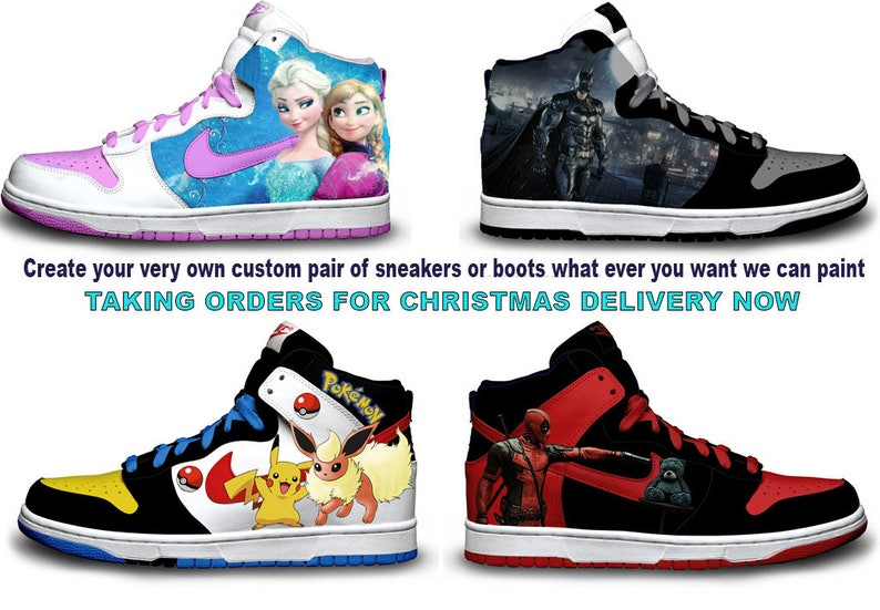 7ee425541f33 Custom Sneakers design you own Sneaker with my help One of