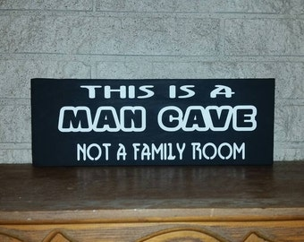man cave sign - man cave decor - man cave wall decor - man cave wall art - man cave bar sign -man cave stuff - man cave art - gifts for him