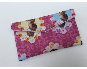 Frida Kahlo handmade envelope purse