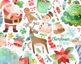 Etsy Christmas.Christmas Clipart Etsy