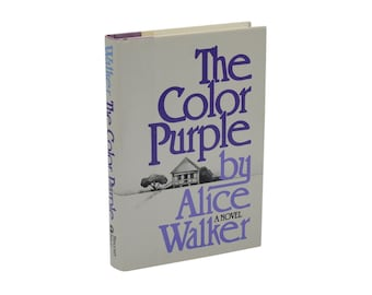 Items similar to Alice Walker, The Color Purple Book Cover Necklace ...