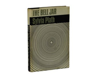 The Bell Jar ~ SYLVIA PLATH ~ First Edition Thus ~ 1966 ~ 1st Faber Printing UK