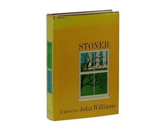 Stoner ~ JOHN WILLIAMS ~ First Edition ~ 1st Printing ~ 1965 Hardcover DJ