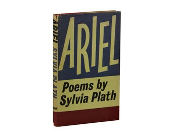 Ariel ~ SYLVIA PLATH ~ True First UK Edition 1965 ~ Faber 1st Printing Hardcover