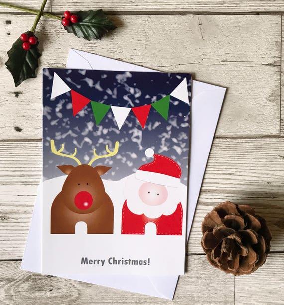 Weihnachtskarte-Pack Kinder Weihnachtskarten Kind Urlaub | Etsy