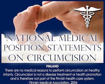 Medical Organization Circumcision Statements