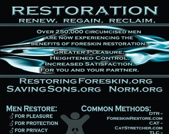 Restoration Info Cards