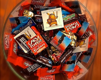 Halloween Trick or Treating Stickers Pack