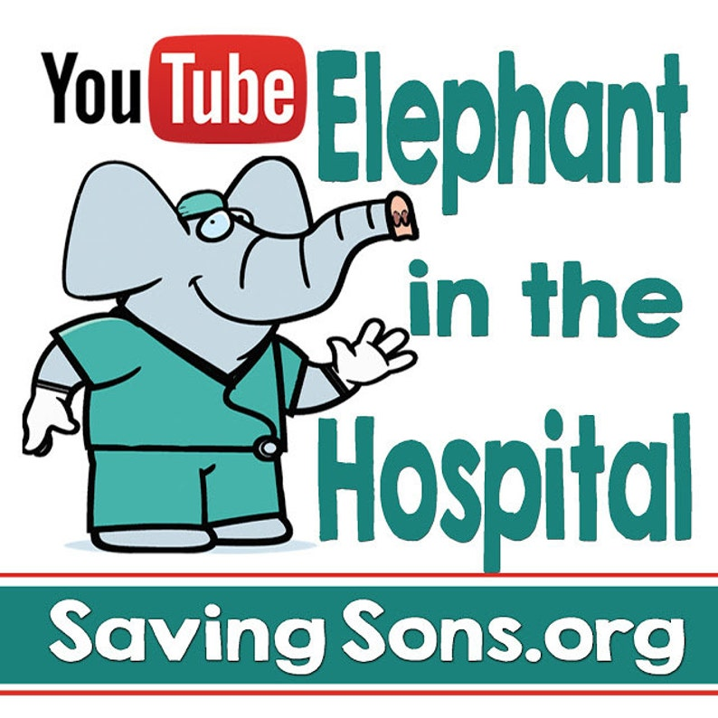 Elephant in the Hospital Intact Info Stickers image 0