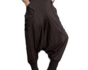 701f382495e SALE EMO Goth Punk Drop Crotch Pants