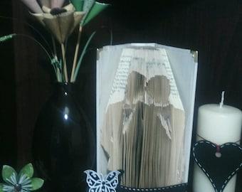 Groom & Groom Book Folding Pattern
