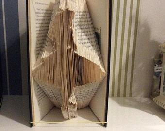Alice in Wonderland Book Folding Pattern