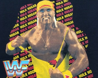 1992 DEADSTOCK WWF HULKAMANIA Hulk Hogan Official Wrestling Vintage Shirt New and Unworn Size S