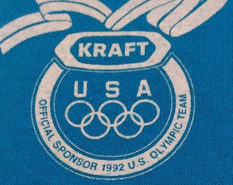 1992 OLYMPIC U.S.A. TEAM Made in USA Official Licensed Vintage Shirt