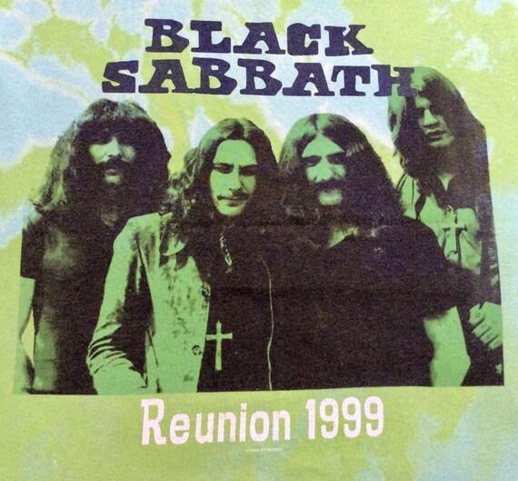 1998 BLACK SABBATH OFFlCIAL LlCENSED TOUR Vintage