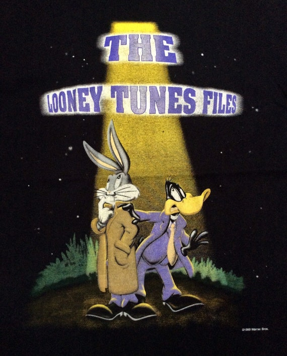 1997 LOONEY TUNES FILES Vintage Shirt